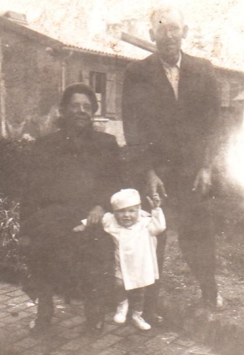 1949 Baptème baraquement